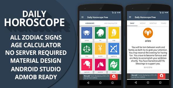 Daily Horoscope + Admob Ready