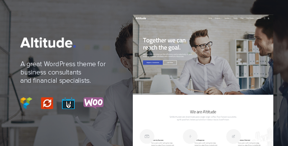 Download Altitude - Business Training, Coaching & Consulting WordPress Theme