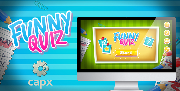 Download Funny Quiz HTML5 Game with Capx nulled download