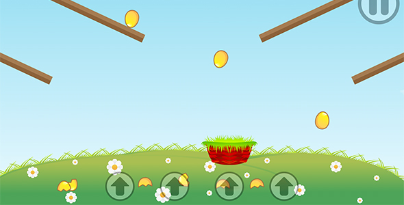 Eggs Catcher with AdMob and Leaderboard (Games)