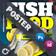 Seafood Restaurant Poster Templates