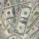 Americans Dollars Banknotes, Cash Money