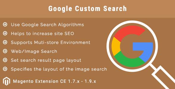 Google Custom Search Magento Extension