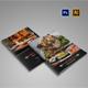 Restaurent Menu Brochure