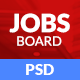 Dexjobs Job Board PSD Template