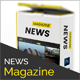 News Magazine - Multipurpose News Magazine PSD Template