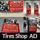 Tire Shop Advertising Bundle