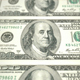 One Hundred American Dollars Banknotes