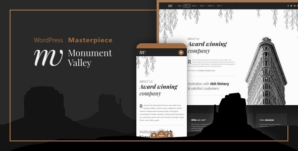 Monument Valley - Accessible WooCommerce & Business Masterpiece