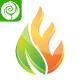 Eco Flame - E Letter Logo