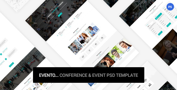 Evento - Conference & Event PSD Template