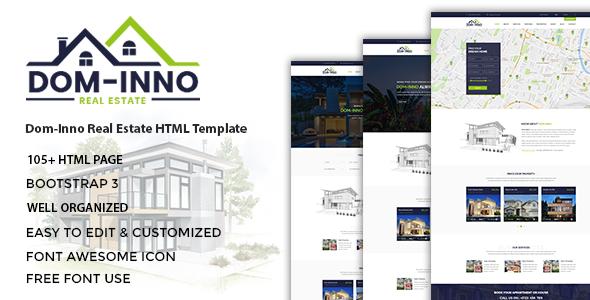 Dominno - Real Estate HTML Template