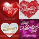 Valentines Day Banner Set Vol2