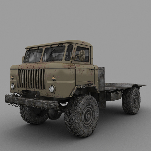 GAZ - 3DOcean Item for Sale