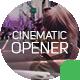 Cinematic Opener Slideshow