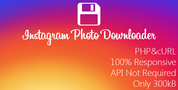 Download Instagram Image Downloader nulled download