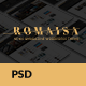 Romaisa News & Magazine PSD Template