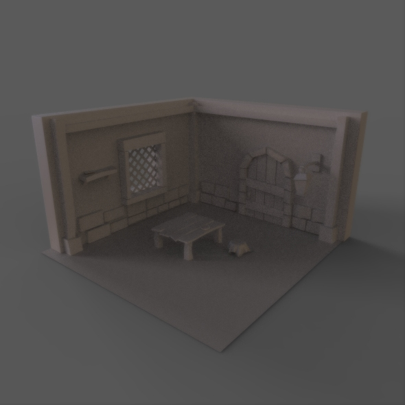Old Room - 3DOcean Item for Sale