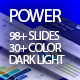 Power presentation template