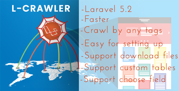 LARAVEL MASTER CRAWLER - CodeCanyon Item for Sale