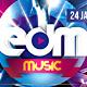 EDM Festival Flyer