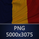 Background Flag of Romania
