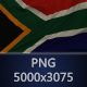 Background Flag of South Africa