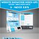 Smart Website Showcase Mockup