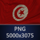 Background Flag of Tunisia