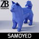 Lowpoly Samoyed