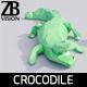 Lowpoly Crocodile