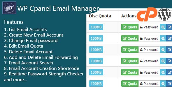 Download Hezecom Cpanel Email Manager - WordPress Plugin nulled download