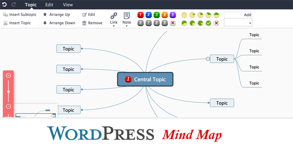 Download WordPress MindMap Editor Plugin nulled download
