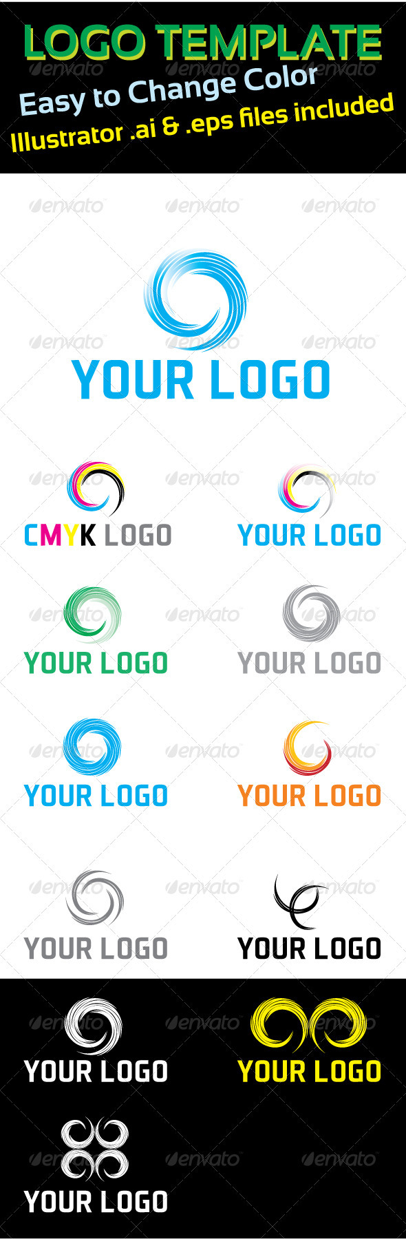 GraphicRiver Logo Template Circle Concept 1874005
