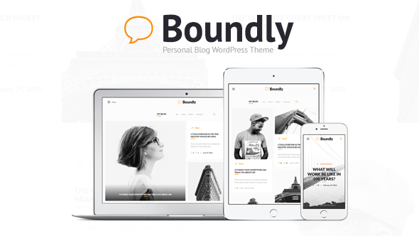 Download Boundly - Personal WordPress Blog Theme nulled download