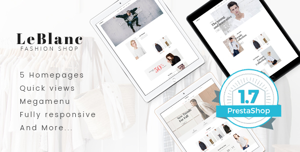 Download Leo Leblanc Responsive Prestashop Theme nulled download