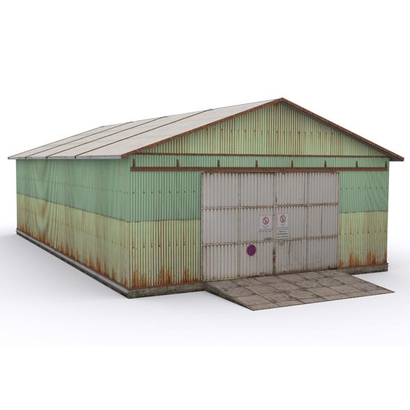Hangar1 - 3DOcean Item for Sale