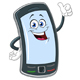 Smart Phone Cartoon