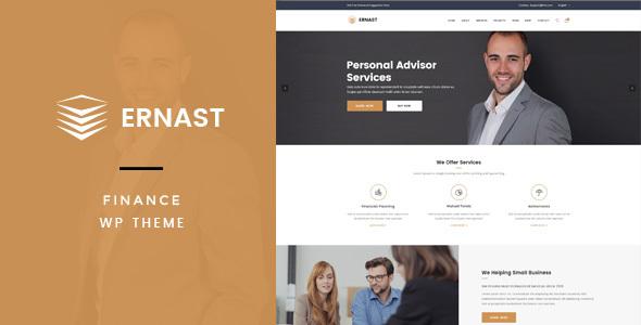 Ernast - Business & Finance Theme