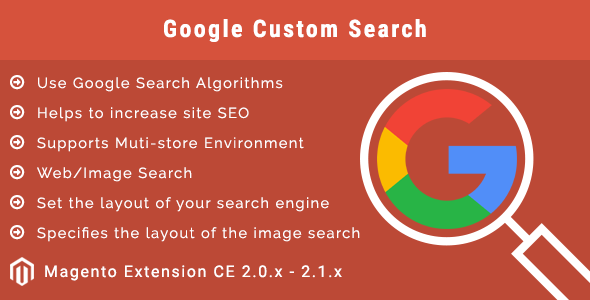 Google Custom Search Magento 2 Extension