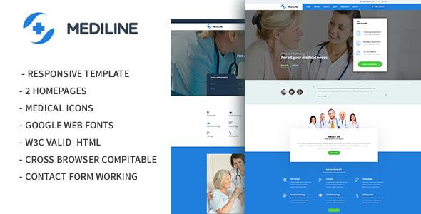 Mediline - Medical & Health HTML Template