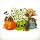 Halloween Vector Emblem