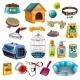 Pet Care Elements Set
