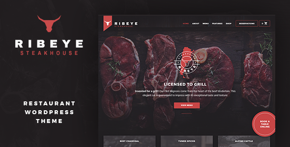 Download Ribeye: Steakhouse & Restaurant WordPress Theme nulled download