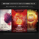 Electro Music Flyer Bundle Vol. 36