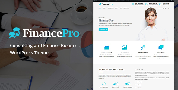 Download FinancePro - Consulting and Finance Business WordPress Theme nulled download