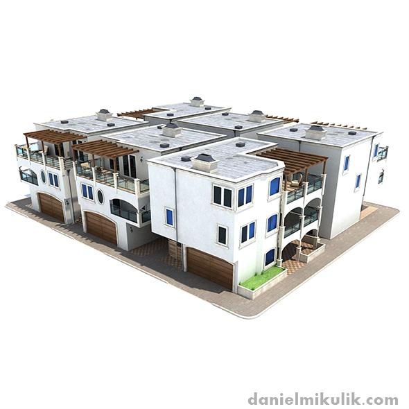 3DOcean Settlement Los Angeles 19257892
