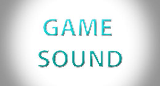 Game sound's