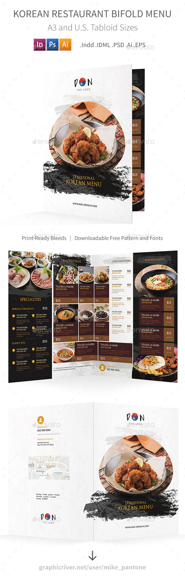 InDesign Menu Templates from GraphicRiver (Page 10)