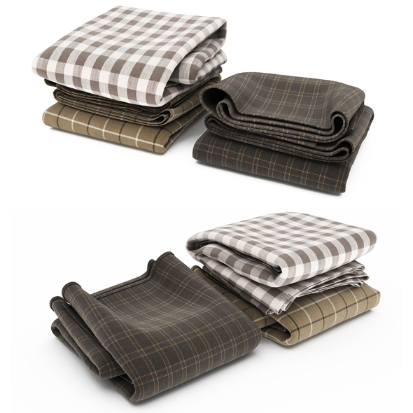 Blanket collection 02 - 3DOcean Item for Sale
